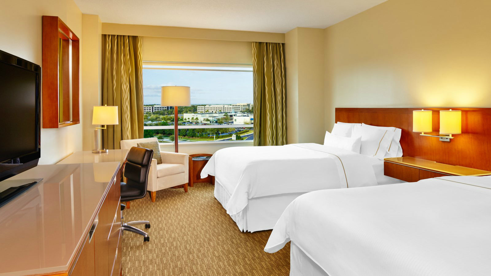 Traditional Guestroom The Westin Lake Mary Orlando North